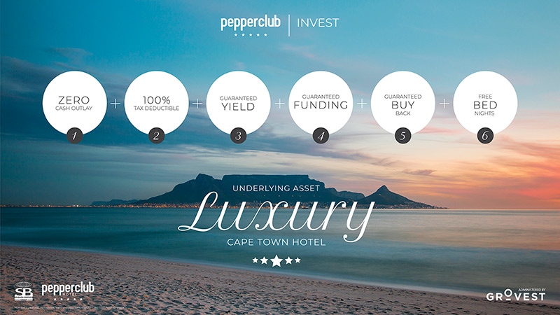 Pepperclub Invest - Section 12J enables investment in 5-star Cape Town hotel